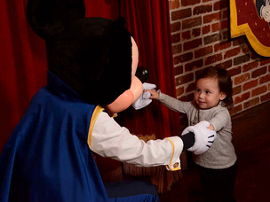 Madison Meets Mickey Mouse.