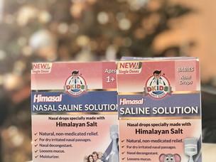 Dr. Kids Natural Nasal Saline Solution - Himalayan Salt