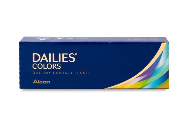 DAILIES COLORS Mystic Blue