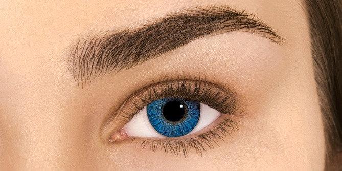 Monthly AIROPTIX Colors Brilliant Blue