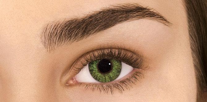 Monthly AIROPTIX Colors Gemstone Green
