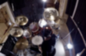 Drum Cover Being Recorded