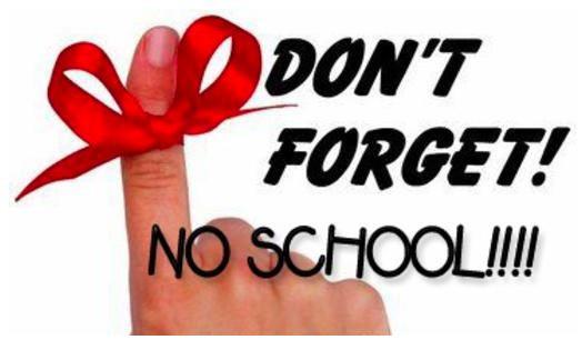 No School Thursday, January 31st