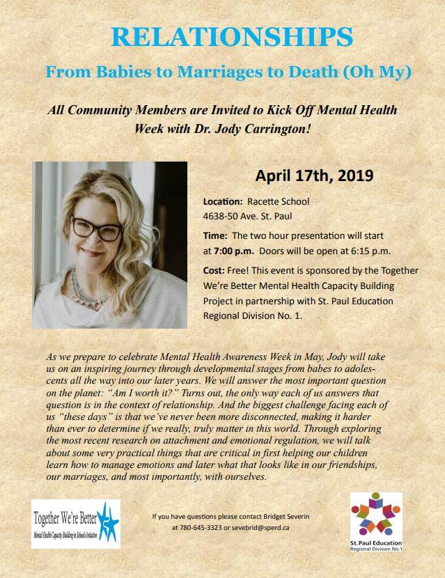 Dr. Jody Carrington Presentation