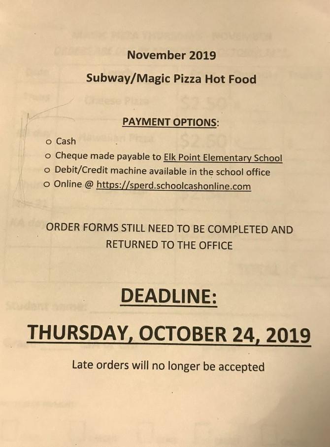 Hot Food Information
