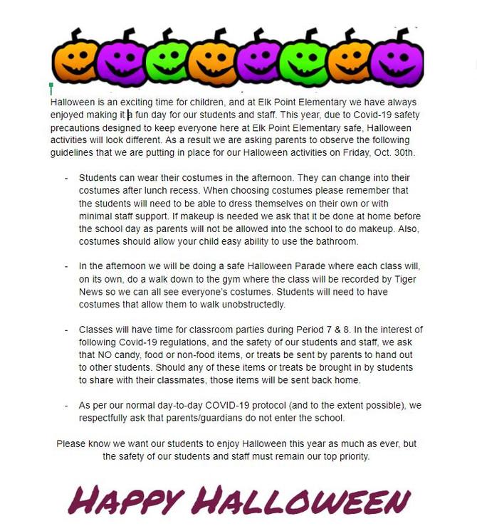 Halloween Festivities @ EPE