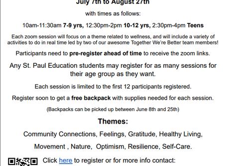 Summer Activities!