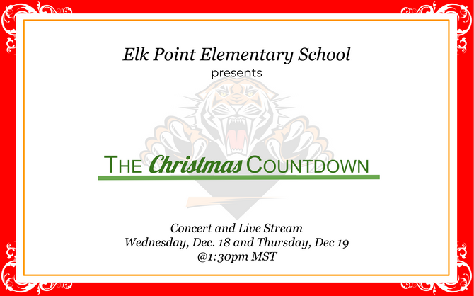 We are live streaming our Christmas Concert!
