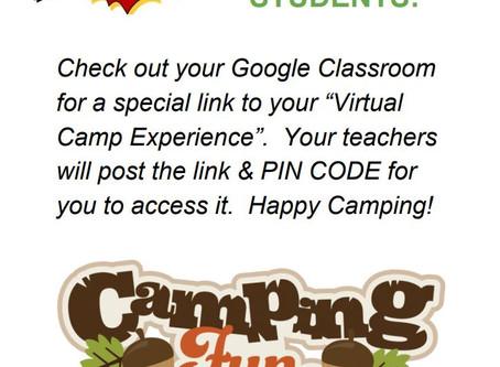 Virtual Grade 5 & 6 Camp