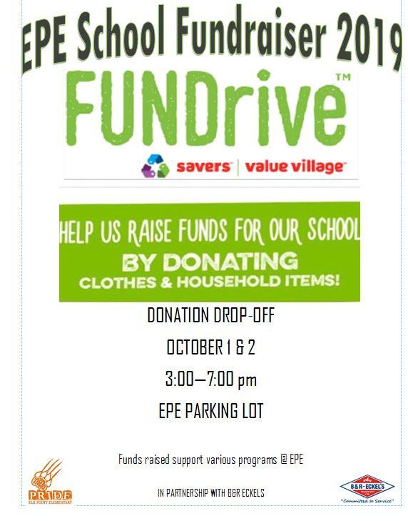 EPE School fundraiser!