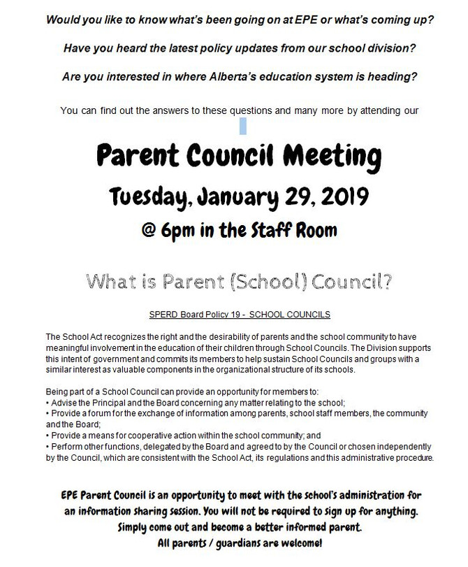 Parent Councill Meeting
