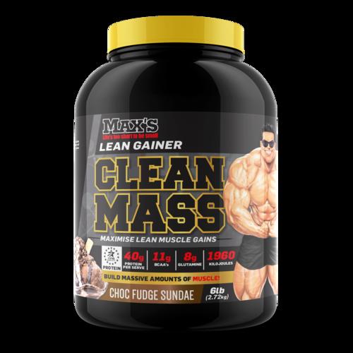 MAX'S CLEAN MASS 2.72KG.