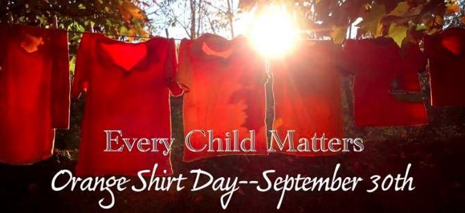 EPE recognizes Orange Shirt Day