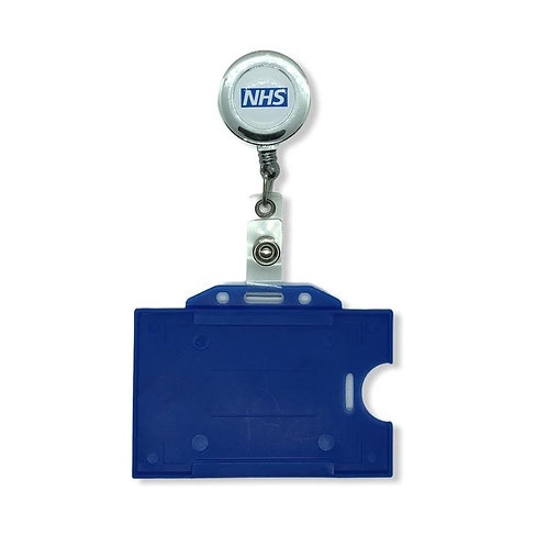 NHS ID Card Holder & NHS Chrome Yo-yo Nhs Print PACK OF 1
