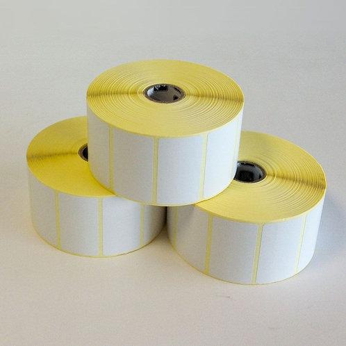 Zebra Z-Perform 1000T, label roll, normal paper, 38x25mm