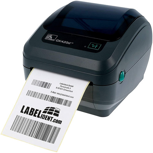 ZEBRA GK420D SERIES DESKTOP LABEL PRINTERS