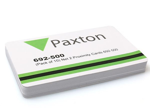 PAXTON 692-500 NET2 PROXIMITY ISO CARDS (PACK OF 10)