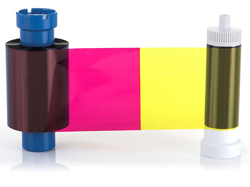 MAGICARD MA100YMCKO COLOUR RIBBON (100 PRINTS)