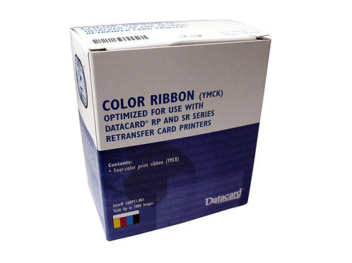 DATACARD 568971-002 YMCK-K COLOUR RIBBON (750 PRINTS)