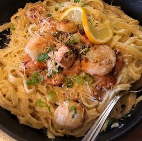Our Seafood Fettuccini $29