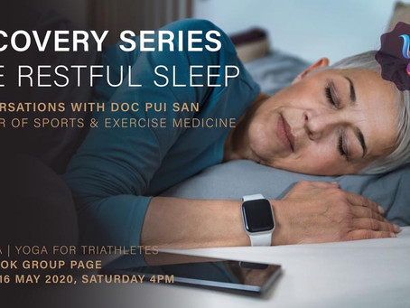 Recovery Series: The Restful Sleep (with Tri Yoga) - PDF file