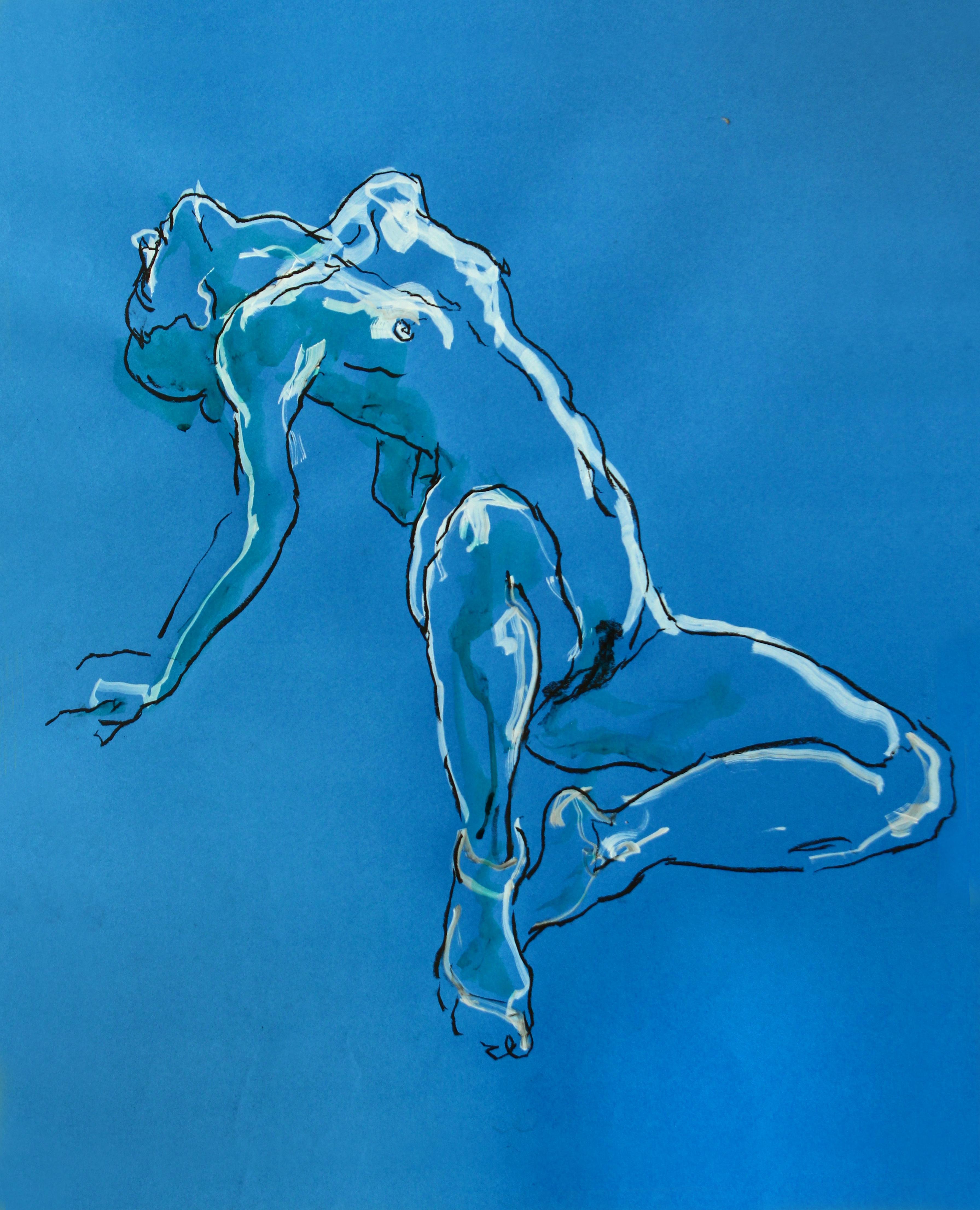 Blue Pose