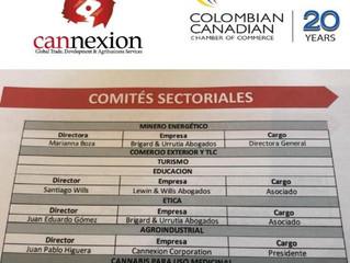 Juan-Pablo Higuera, establece y asume la coordinación del Comité Agroindustrial de la CCCC - 2018