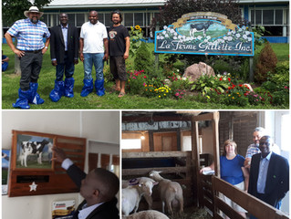 Cannexion conducted a visit from Ambassador Jean Claude Kalelwa Kalimasi of D.R.C. to learn about Ca