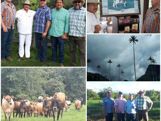 Visita a la región del Eje Cafetero en Colombia.  Canadian Livestock Genetics Association y Weavercr