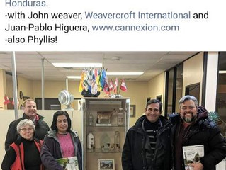 With support from Weavercroft International, Cannexion organized key meetings with delegates from Ho