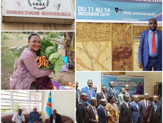 Mission to DRC by our African Liaison Coordinator Mr. Mungabo resulting in productive meetings with