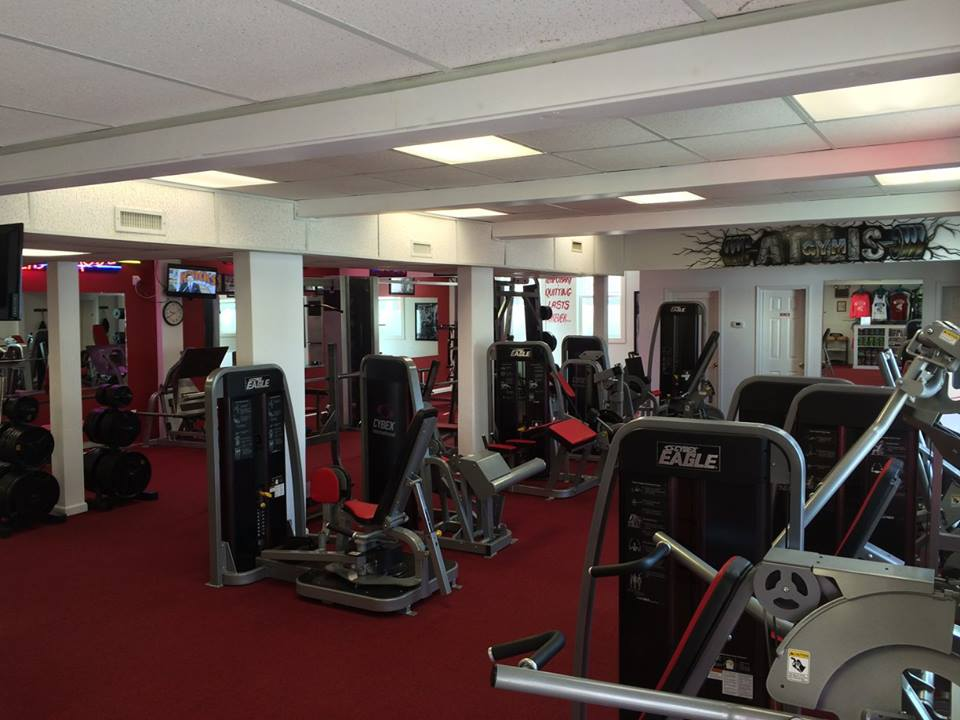 Atilis Gym Sea Isle Equiptment Machines