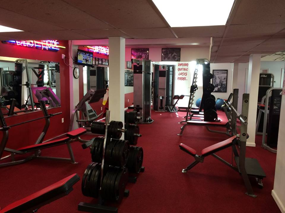 Atilis Gym Sea Isle Free Weight Benches