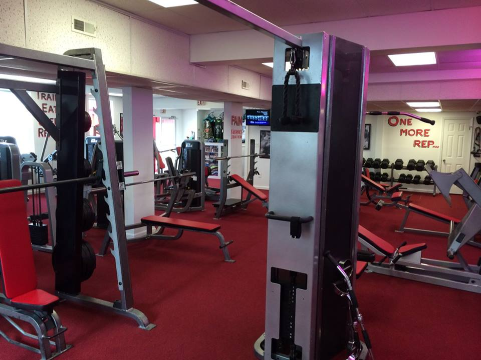 Atilis Gym Sea Isle Rack