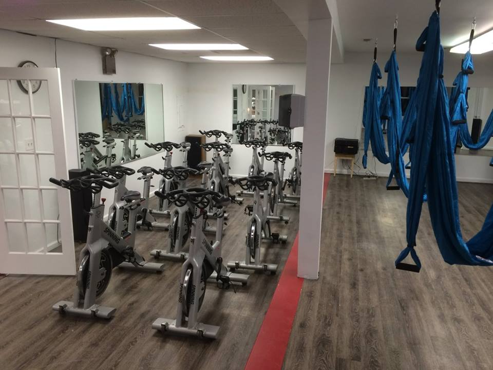 Atilis Gym Sea Isle Group Fitness Room
