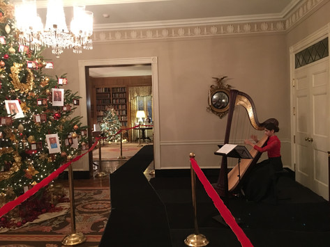 Playing at the Governor's Mansion