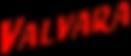 Napis_VALVARA_PLASTICKY_CERVENY_bez_poza