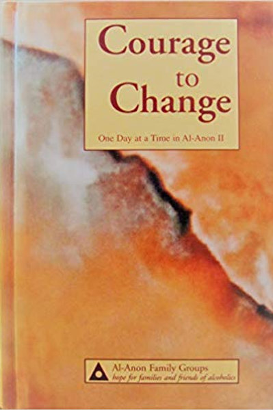 Courage to Change-Large Print