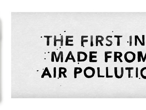 מיטיב החודש - AIR INK. לצייר ולהדפיס בעזרת זיהום אוויר?!