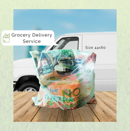Telobag Multipurpose Bag Size 44 for Grocery Delivery