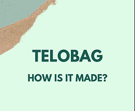 The process of making plant-based, biodegradable, plastic-free, antistatic and home compostable Telobag