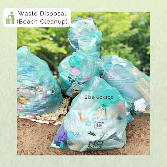 Telobag Multipurpose Bag Size 60 for Waste Disposal