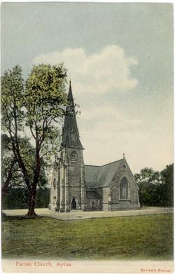Ayton Parish Church 1905