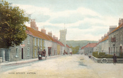 High St from north