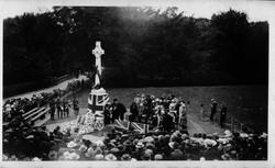 War memorial unveiling