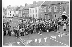 Street party for bypass opening