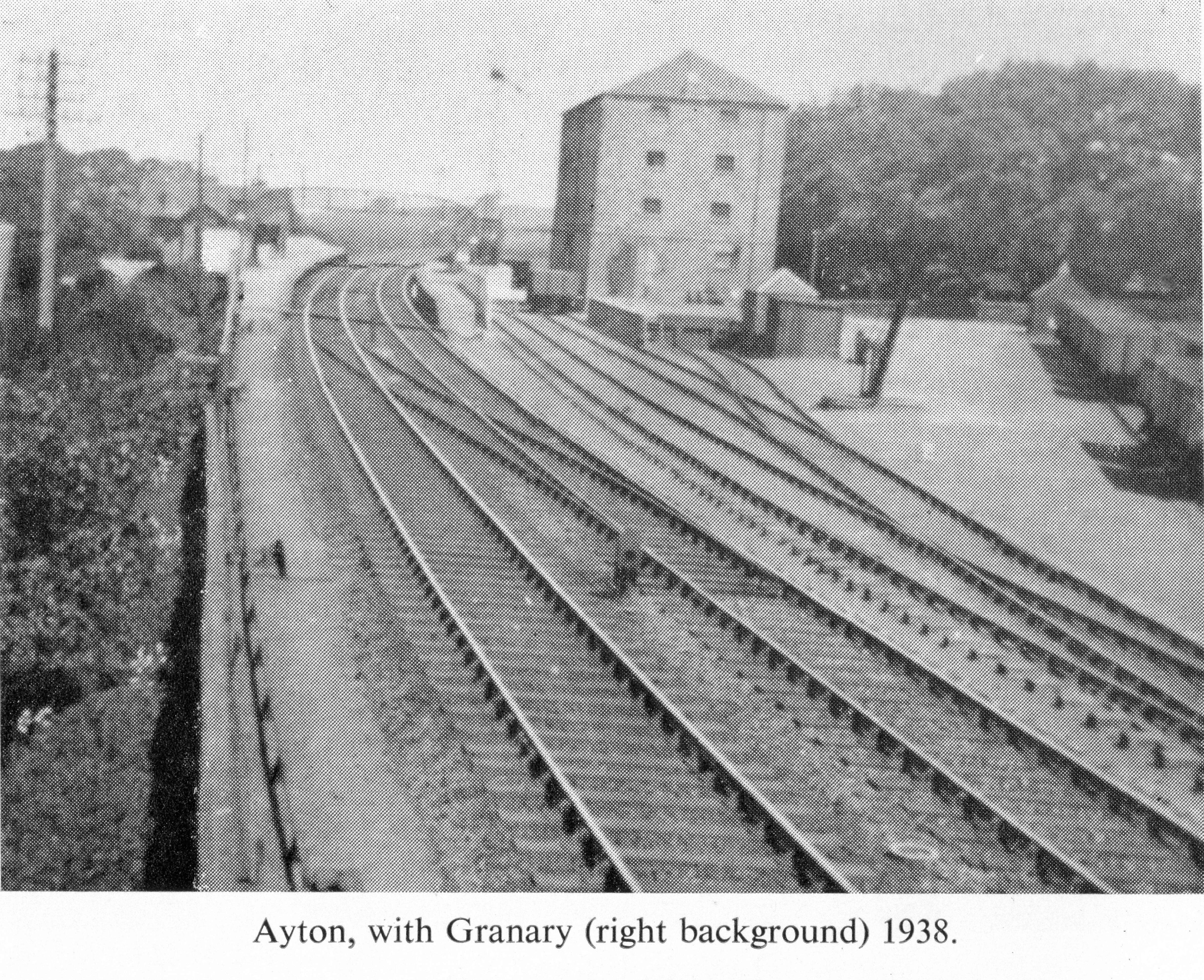 Ayton Station 1938