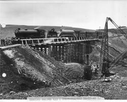 Testing bridge 133 (Freekirk Bridge)