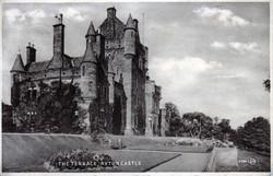 The Terrace Ayton Castle