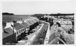 High St from Clock Tower 1953